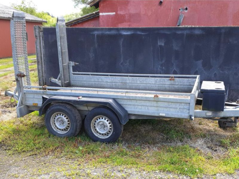 Humbauer 2 aksel maskin trailer / 2 axel machine trailer - 0