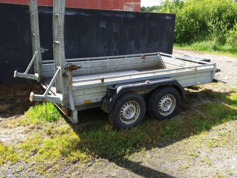 Humbauer 2 aksel maskin trailer / 2 axel machine trailer - 1