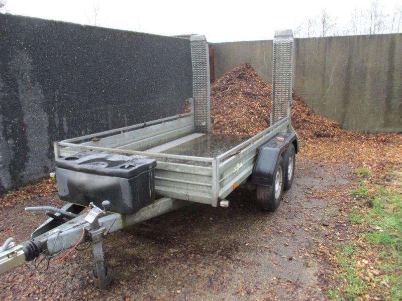 Humbauer 2 aksel maskin trailer / 2 axel machine trailer - 6