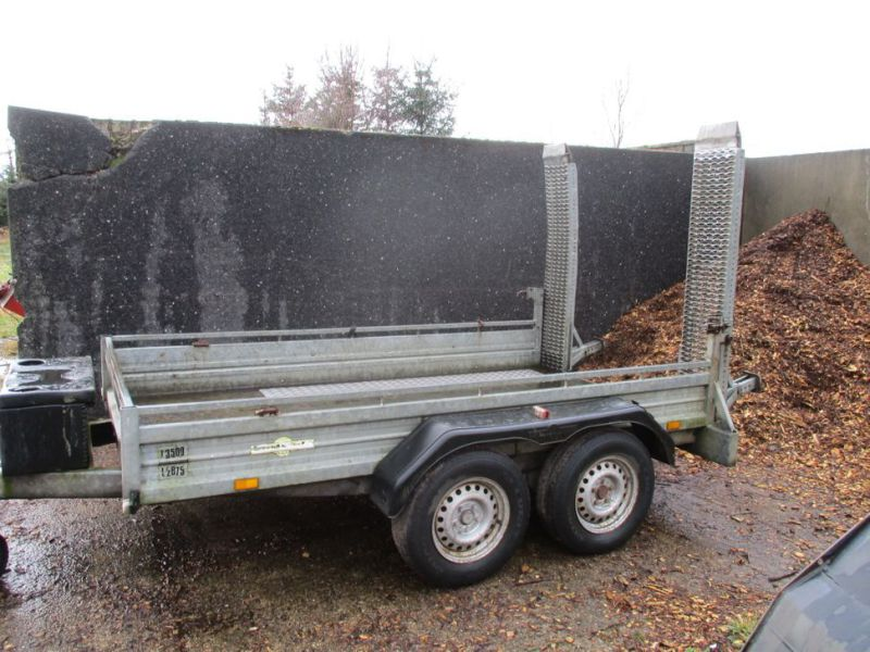 Humbauer 2 aksel maskin trailer / 2 axel machine trailer - 7