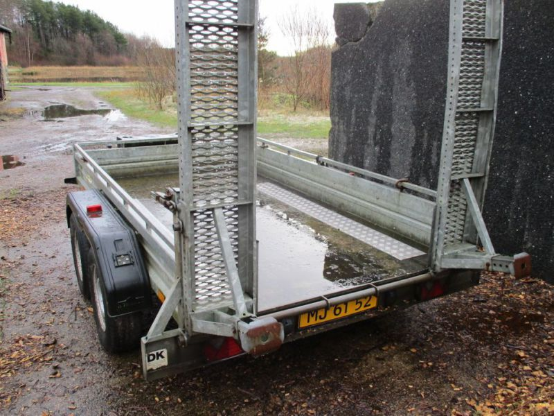 Humbauer 2 aksel maskin trailer / 2 axel machine trailer - 11