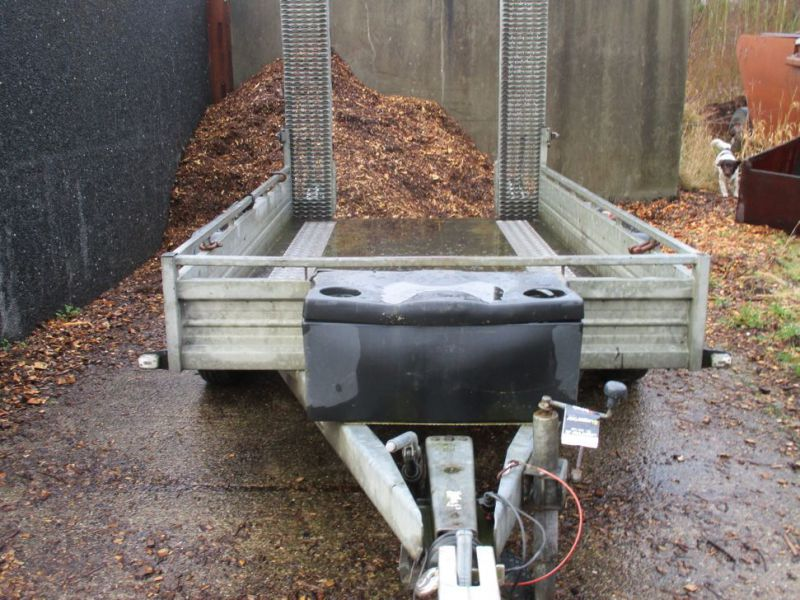 Humbauer 2 aksel maskin trailer / 2 axel machine trailer - 12