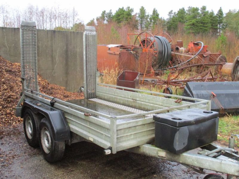 Humbauer 2 aksel maskin trailer / 2 axel machine trailer - 13