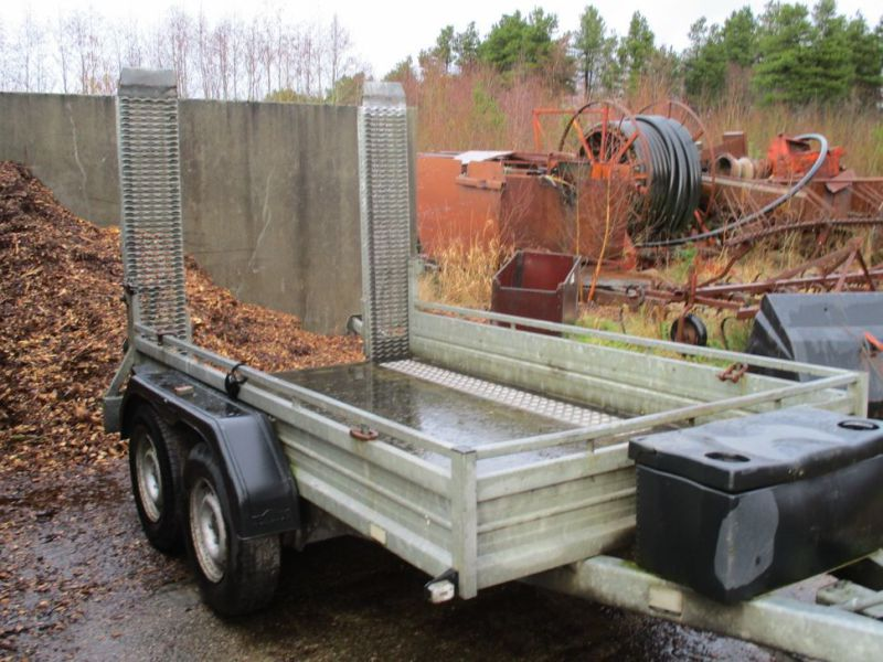 Humbauer 2 aksel maskin trailer / 2 axel machine trailer - 14