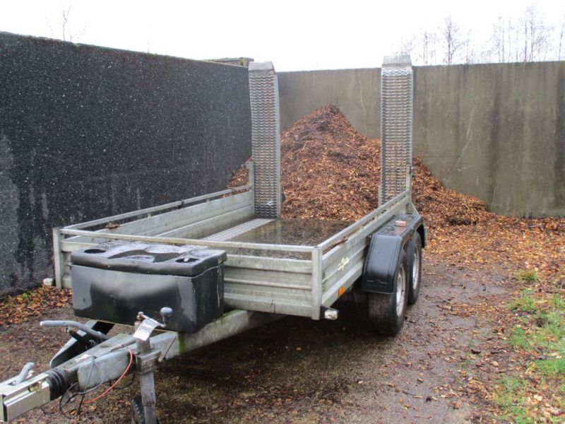 Humbauer 2 aksel maskin trailer / 2 axel machine trailer - 15