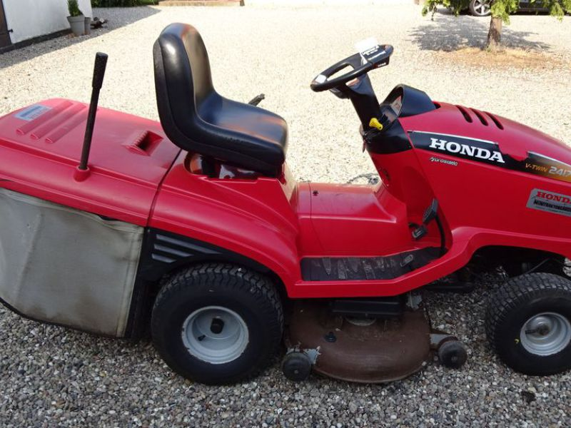 Honda HF 2417 græsklipper med opsamler / mower with collector - 0