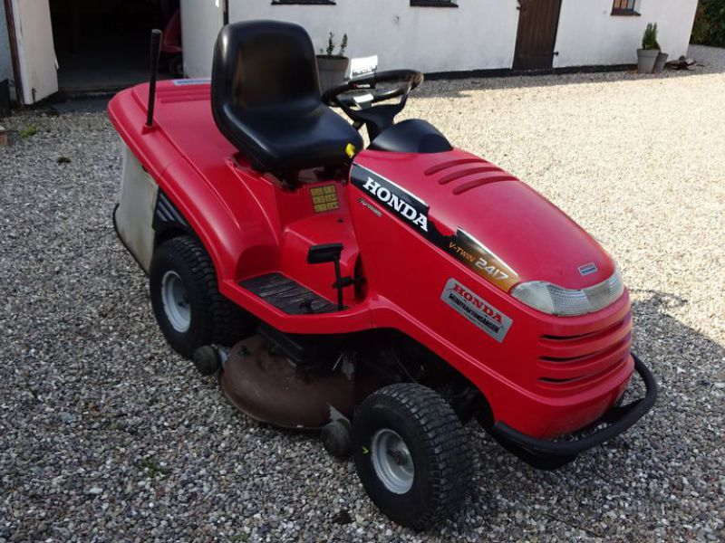 Honda HF 2417 græsklipper med opsamler / mower with collector - 2