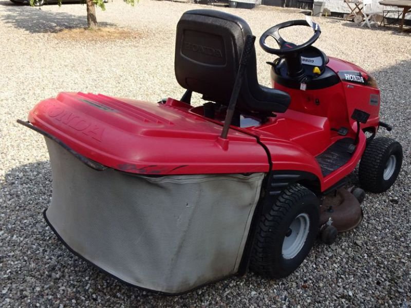Honda HF 2417 græsklipper med opsamler / mower with collector - 3