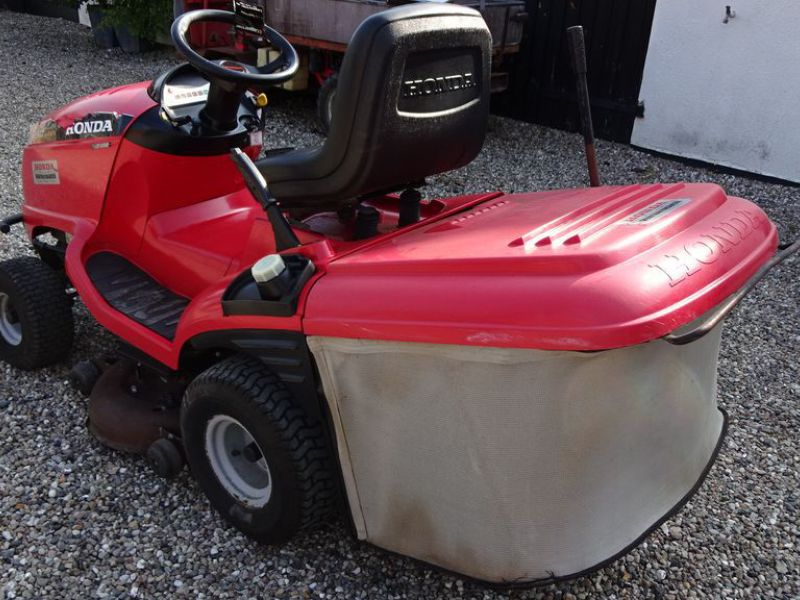 Honda HF 2417 græsklipper med opsamler / mower with collector - 4