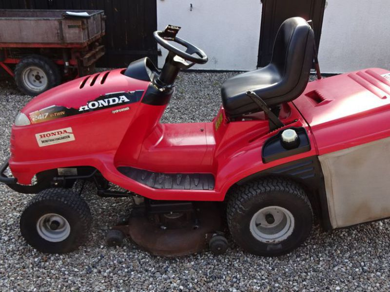 Honda HF 2417 græsklipper med opsamler / mower with collector - 5