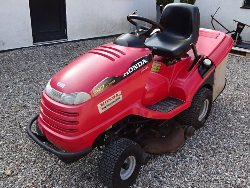 Honda HF 2417 græsklipper med opsamler / mower with collector - 6