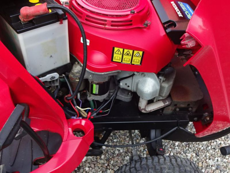 Honda HF 2417 græsklipper med opsamler / mower with collector - 10