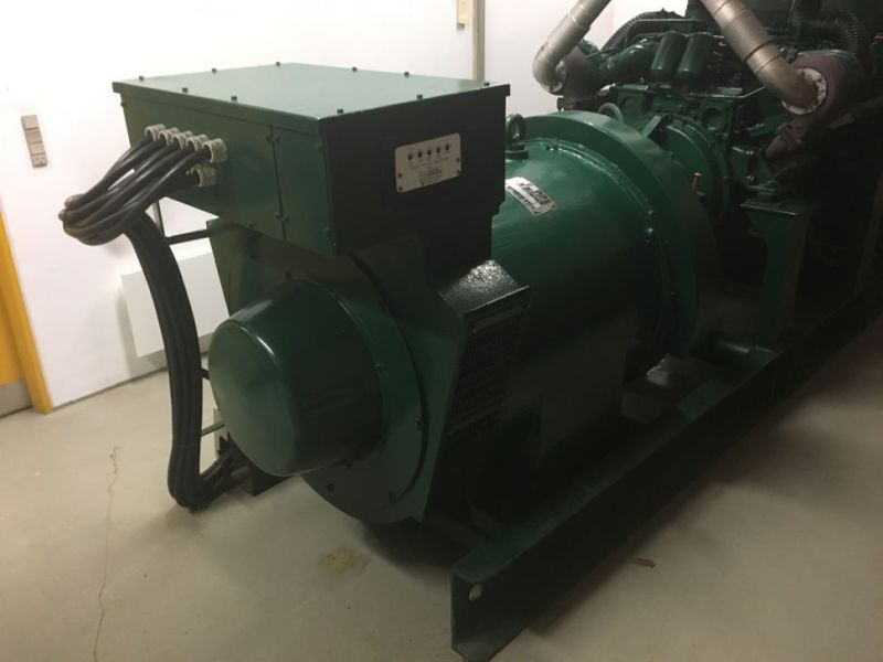 Generator MPM450/21 med Mercedes motor / Generator with Mercedes engine  - 1