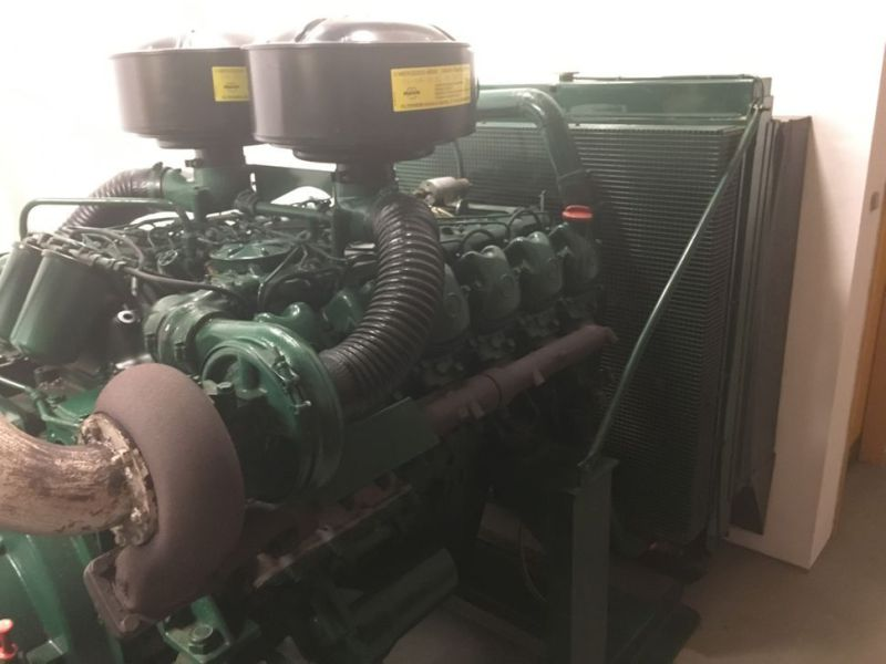 Generator MPM450/21 med Mercedes motor / Generator with Mercedes engine  - 2