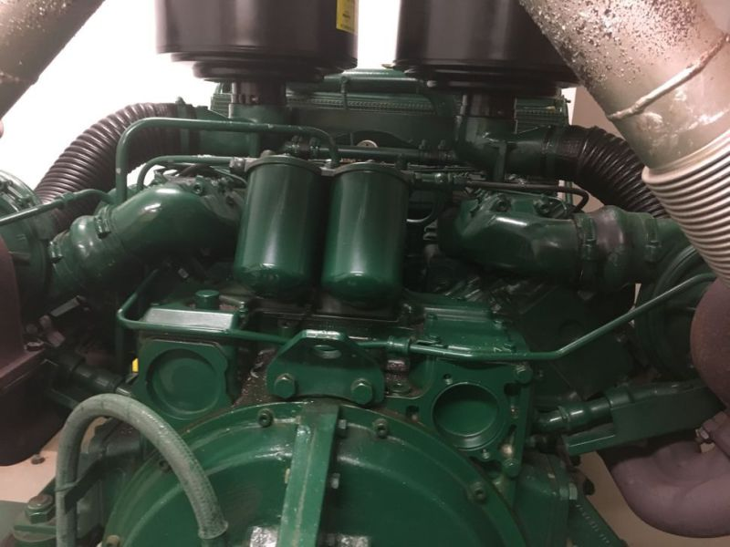 Generator MPM450/21 med Mercedes motor / Generator with Mercedes engine  - 8