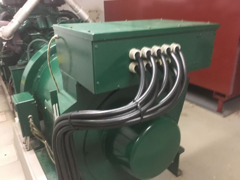 Generator MPM450/21 med Mercedes motor / Generator with Mercedes engine  - 10