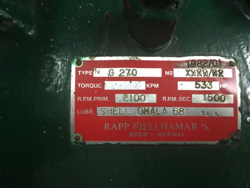 Generator MPM450/21 med Mercedes motor / Generator with Mercedes engine  - 13