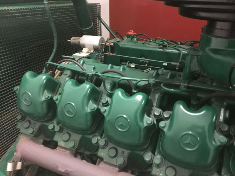 Generator MPM450/21 med Mercedes motor / Generator with Mercedes engine  - 16