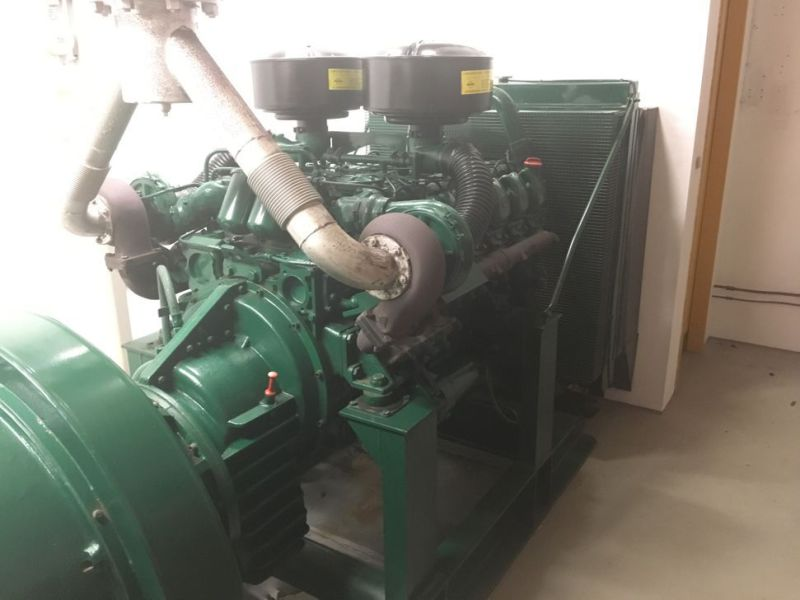 Generator MPM450/21 med Mercedes motor / Generator with Mercedes engine  - 18
