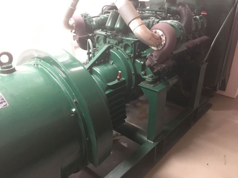 Generator MPM450/21 med Mercedes motor / Generator with Mercedes engine  - 19