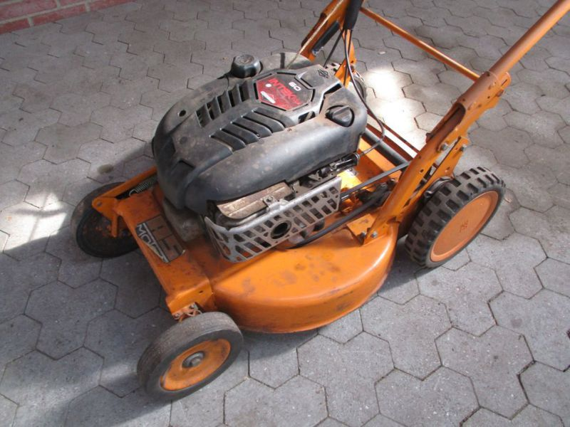 AS-Rotorklipper Ny-renoveret motor / Lawn Mower - 0