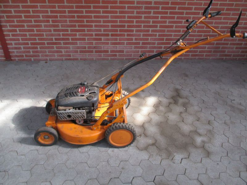AS-Rotorklipper Ny-renoveret motor / Lawn Mower - 1