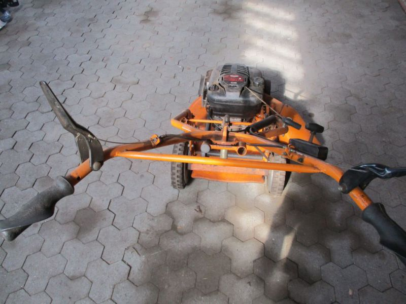 AS-Rotorklipper Ny-renoveret motor / Lawn Mower - 2