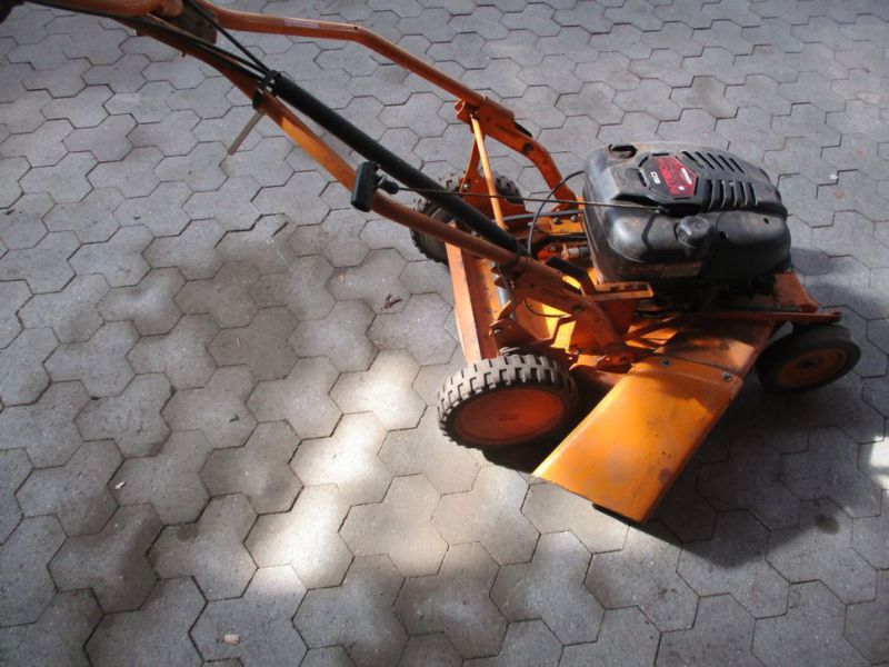AS-Rotorklipper Ny-renoveret motor / Lawn Mower - 3