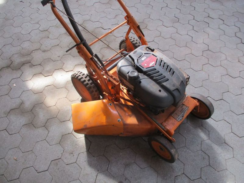 AS-Rotorklipper Ny-renoveret motor / Lawn Mower - 4