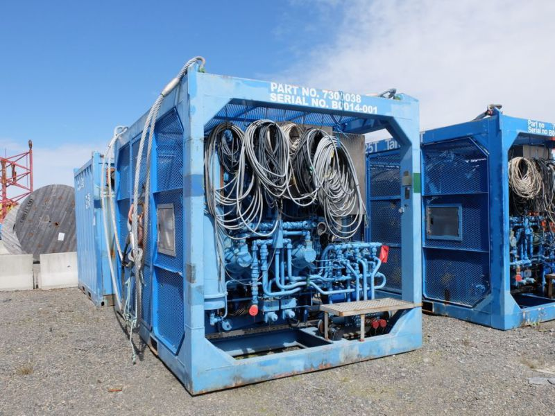 UTIS - Subsea equipment.  Winch, HPU-containers. 2 complete systems. - 4