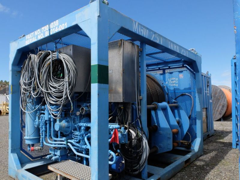 UTIS - Subsea equipment.  Winch, HPU-containers. 2 complete systems. - 5