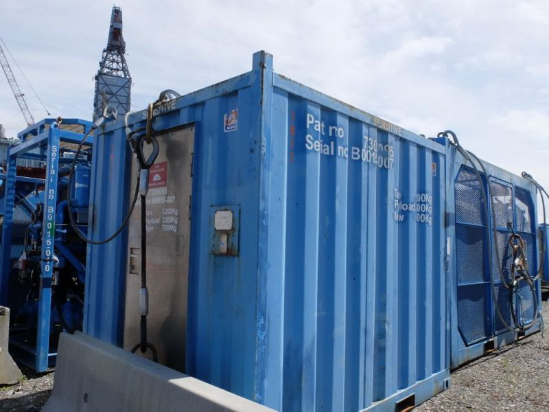 UTIS - Subsea equipment.  Winch, HPU-containers. 2 complete systems. - 13