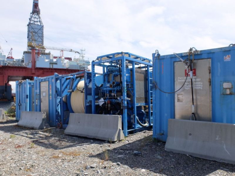UTIS - Subsea equipment.  Winch, HPU-containers. 2 complete systems. - 18