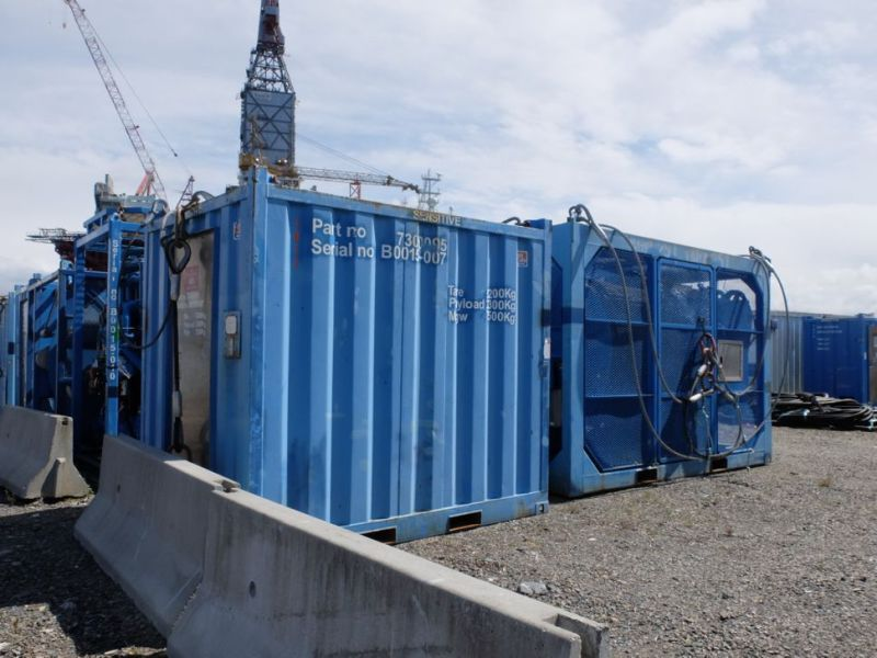 UTIS - Subsea equipment.  Winch, HPU-containers. 2 complete systems. - 19