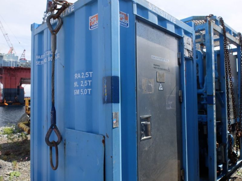 UTIS - Subsea equipment.  Winch, HPU-containers. 2 complete systems. - 21