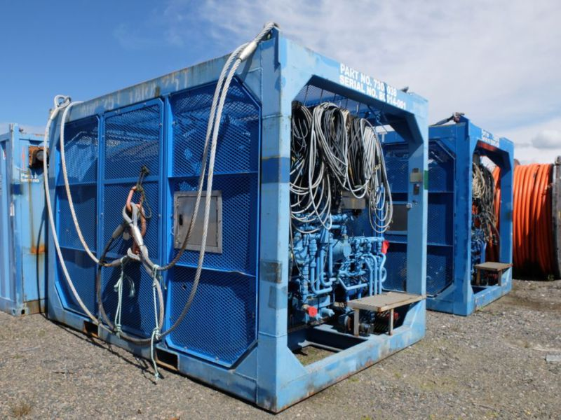 UTIS - Subsea equipment.  Winch, HPU-containers. 2 complete systems. - 31