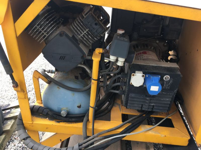 Diesel Generator med kompressor / Genset with Compressor - 3
