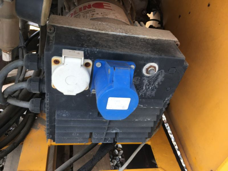 Diesel Generator med kompressor / Genset with Compressor - 5