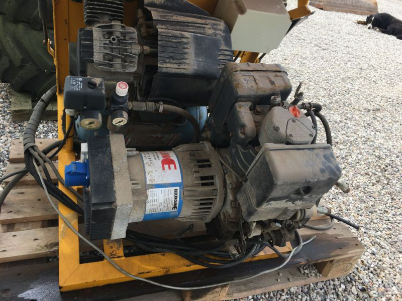 Diesel Generator med kompressor / Genset with Compressor - 13