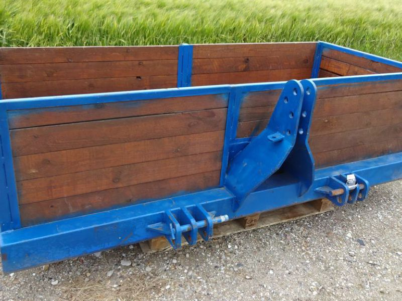 Transportkasse til traktor / Transport box for tractor - 0