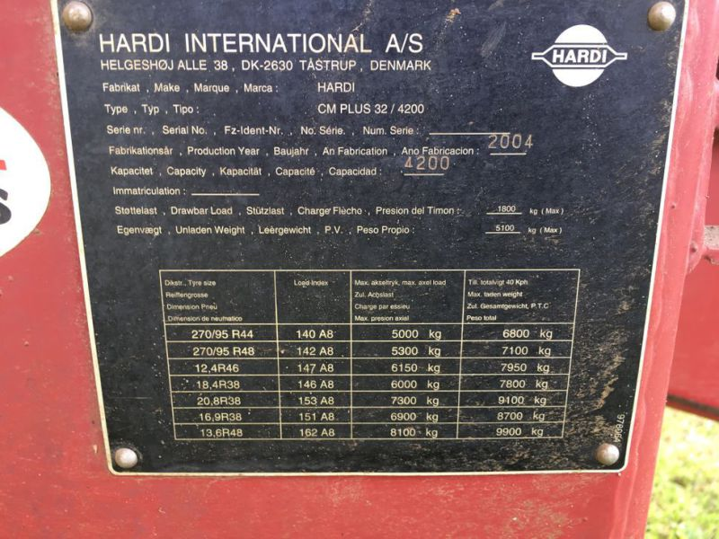 Hardi Commander 4200 L Marksprøjte / Field Sprayer - 16