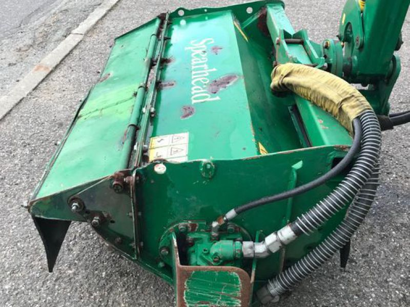 Spearhead Twiga 5000 med slagleklipper / Power arms Flail mower  - 8