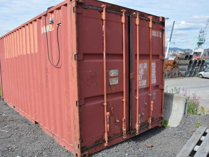 20 fot container  / Container 20 feet - 0