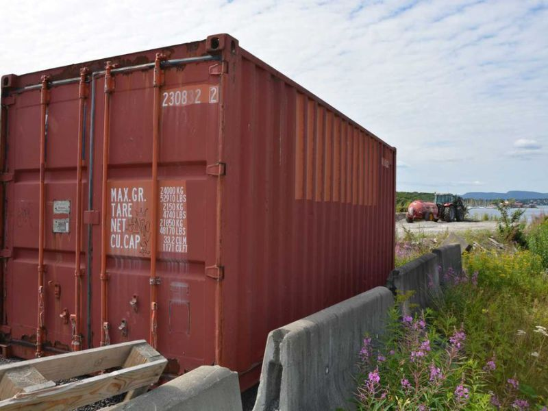 20 fot container  / Container 20 feet - 6