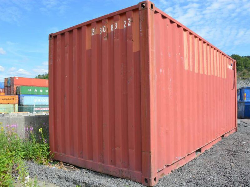 20 fot container  / Container 20 feet - 8