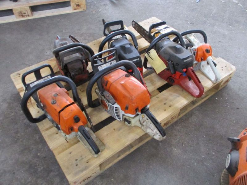 6 stk. Motorsave Still Jonsereds / 6 pcs. Chainsaws - 0