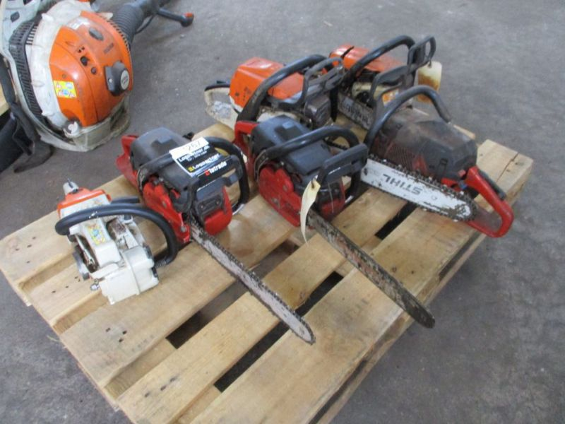 6 stk. Motorsave Still Jonsereds / 6 pcs. Chainsaws - 1
