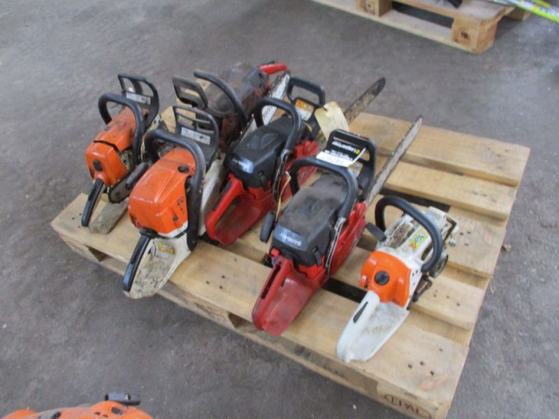 6 stk. Motorsave Still Jonsereds / 6 pcs. Chainsaws - 3