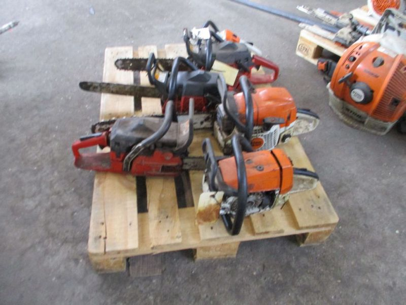 6 stk. Motorsave Still Jonsereds / 6 pcs. Chainsaws - 4