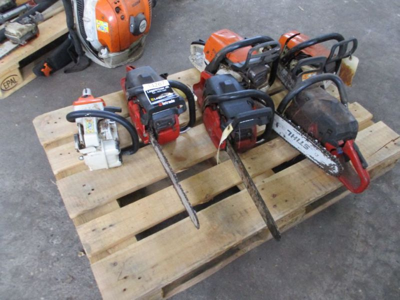 6 stk. Motorsave Still Jonsereds / 6 pcs. Chainsaws - 6